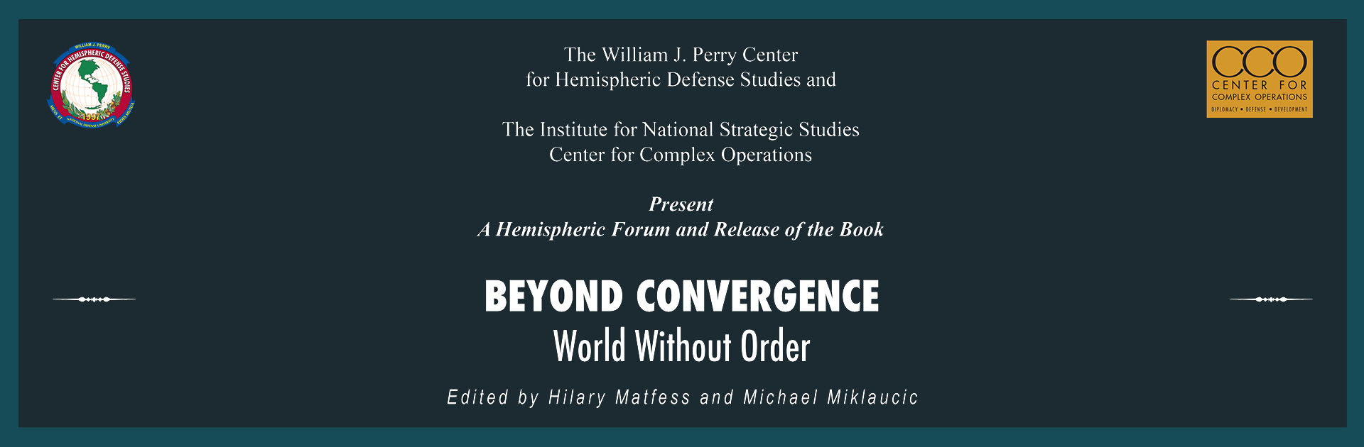 Beyond Convergence: World Without Order