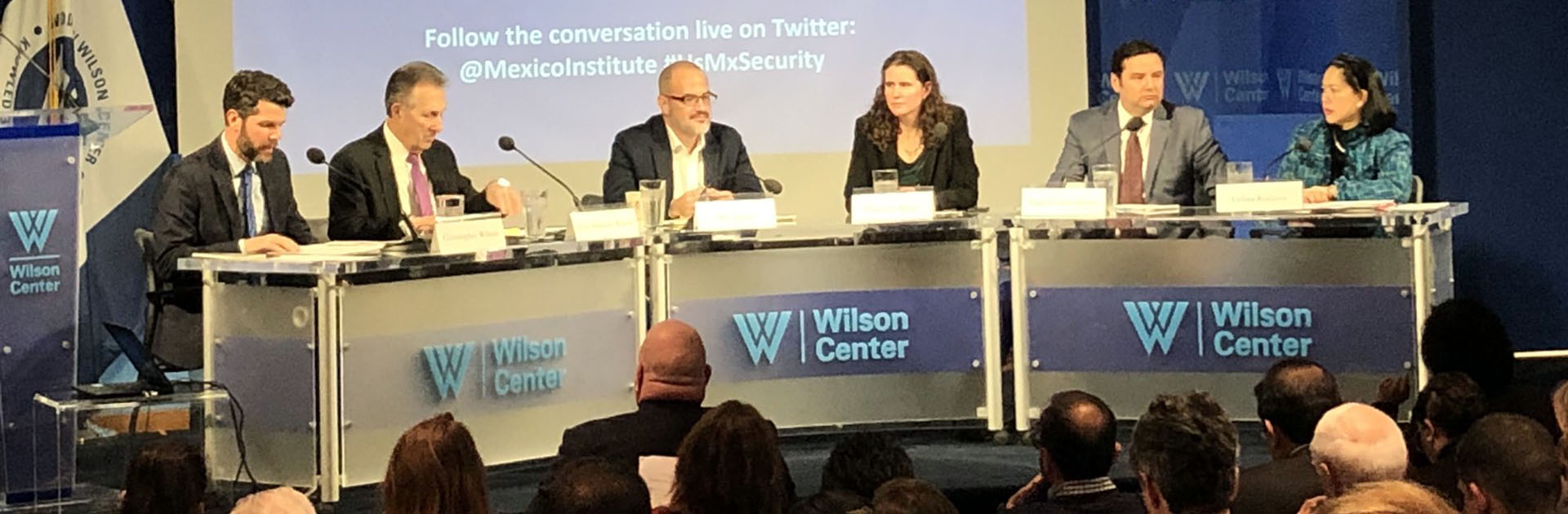 Prof. Realuyo Attends Wilson Center US-Mexico Conference
