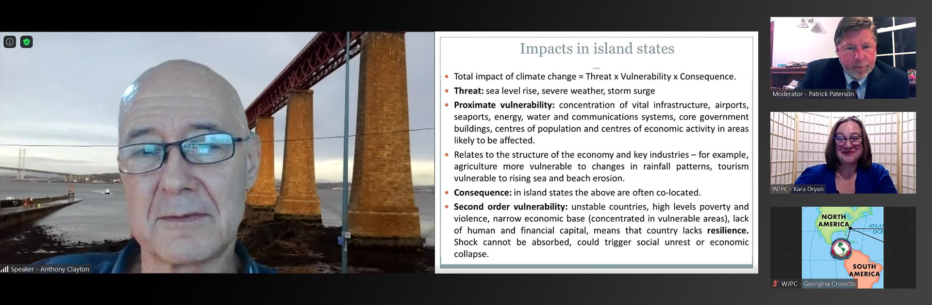 Disaster Risk Resilience: Climate and Security in the Caribbean