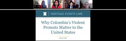 Perry Center Professor Speaks on Why Colombia's Violent Protests Matter to the US